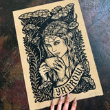 Yarrow screen print