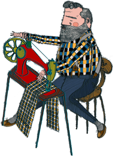 Image result for plaid illustration