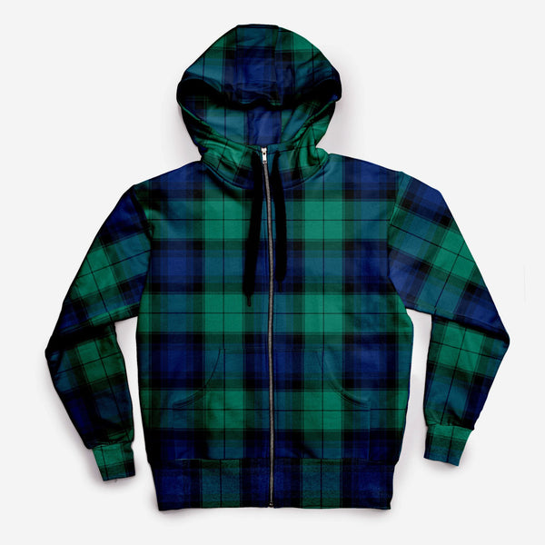 The JCRT + Stubbs & Wootton Blackwatch Plaid Sweatshirt