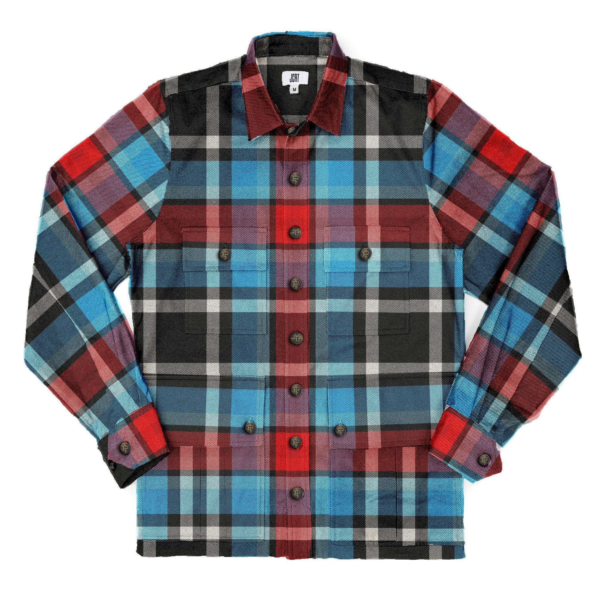The Remain In Light Plaid Driving Jacket