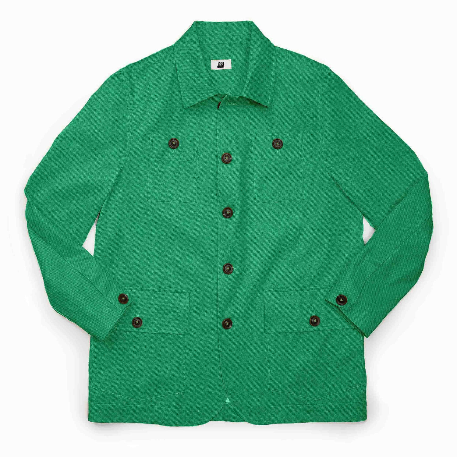 The Lime Green Twill Country Jacket