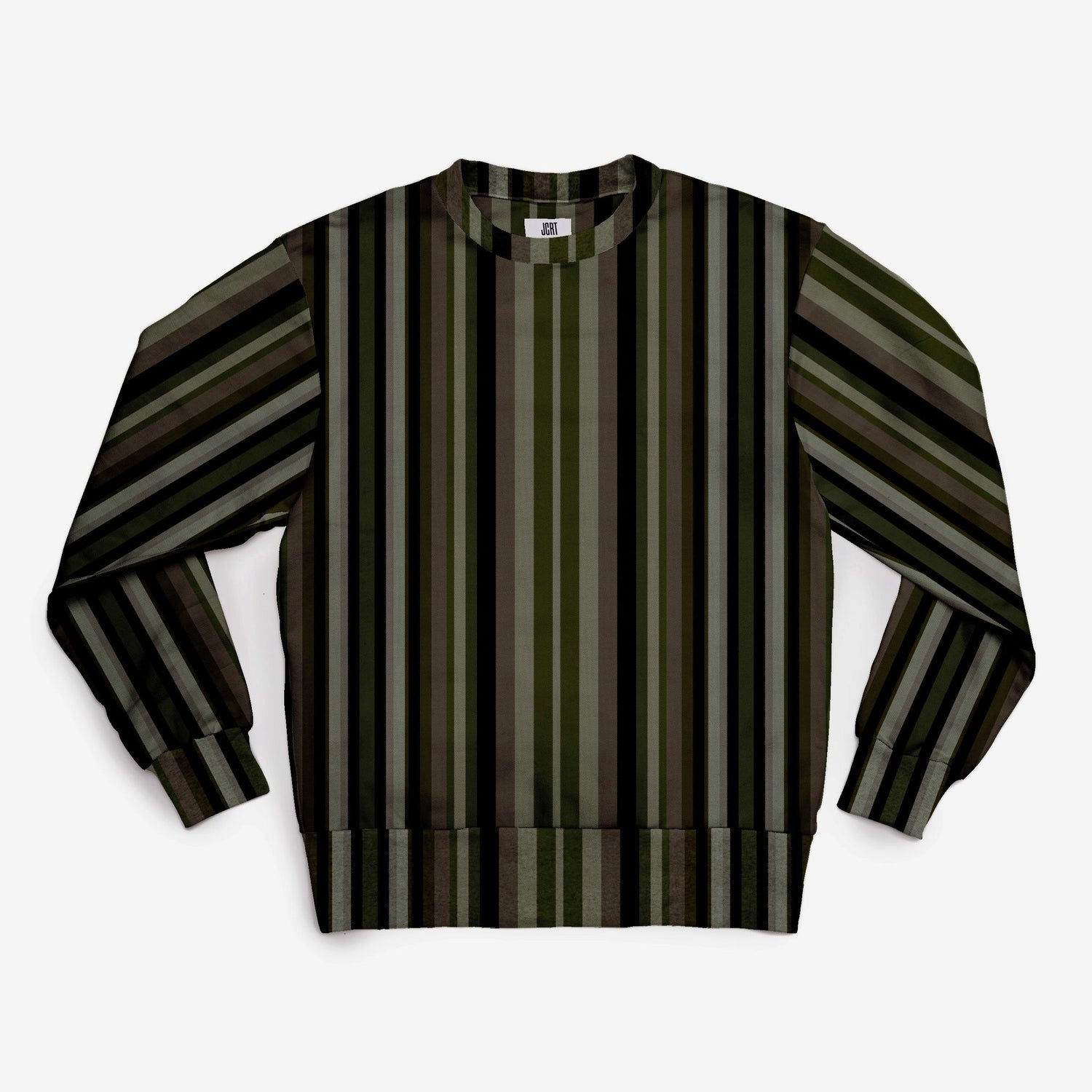 The JCRT + Stubbs & Wootton Needlepoint Stripe Sweatshirt