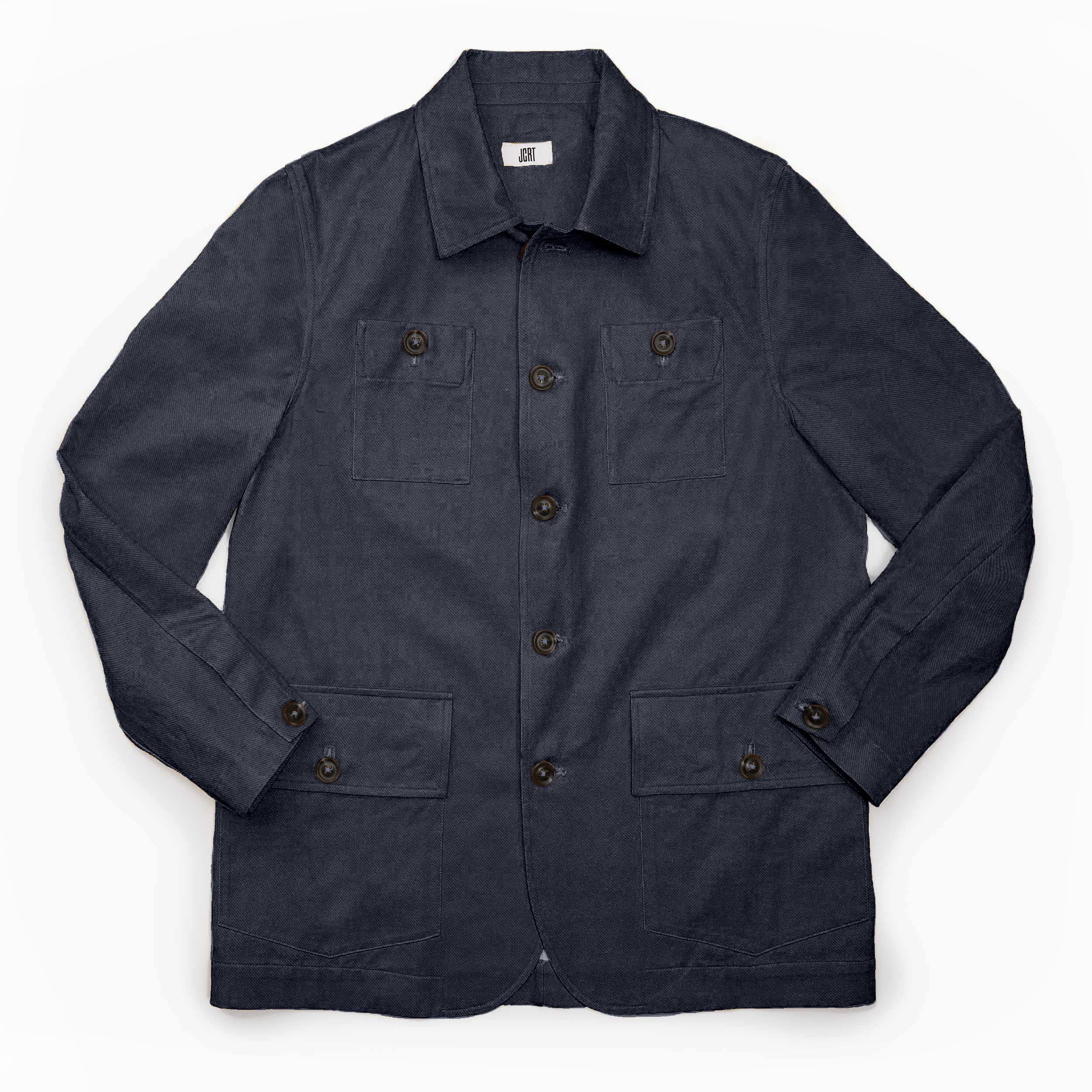 The Washed Denim Twill Country Jacket