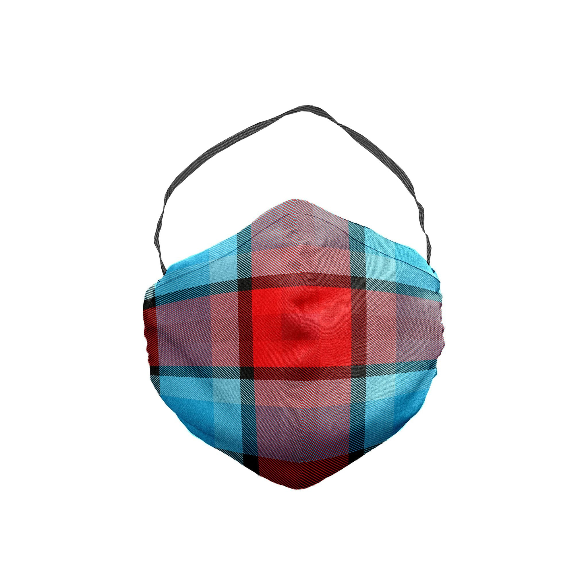 The Remain In Light Plaid Face Mask 5 Pack