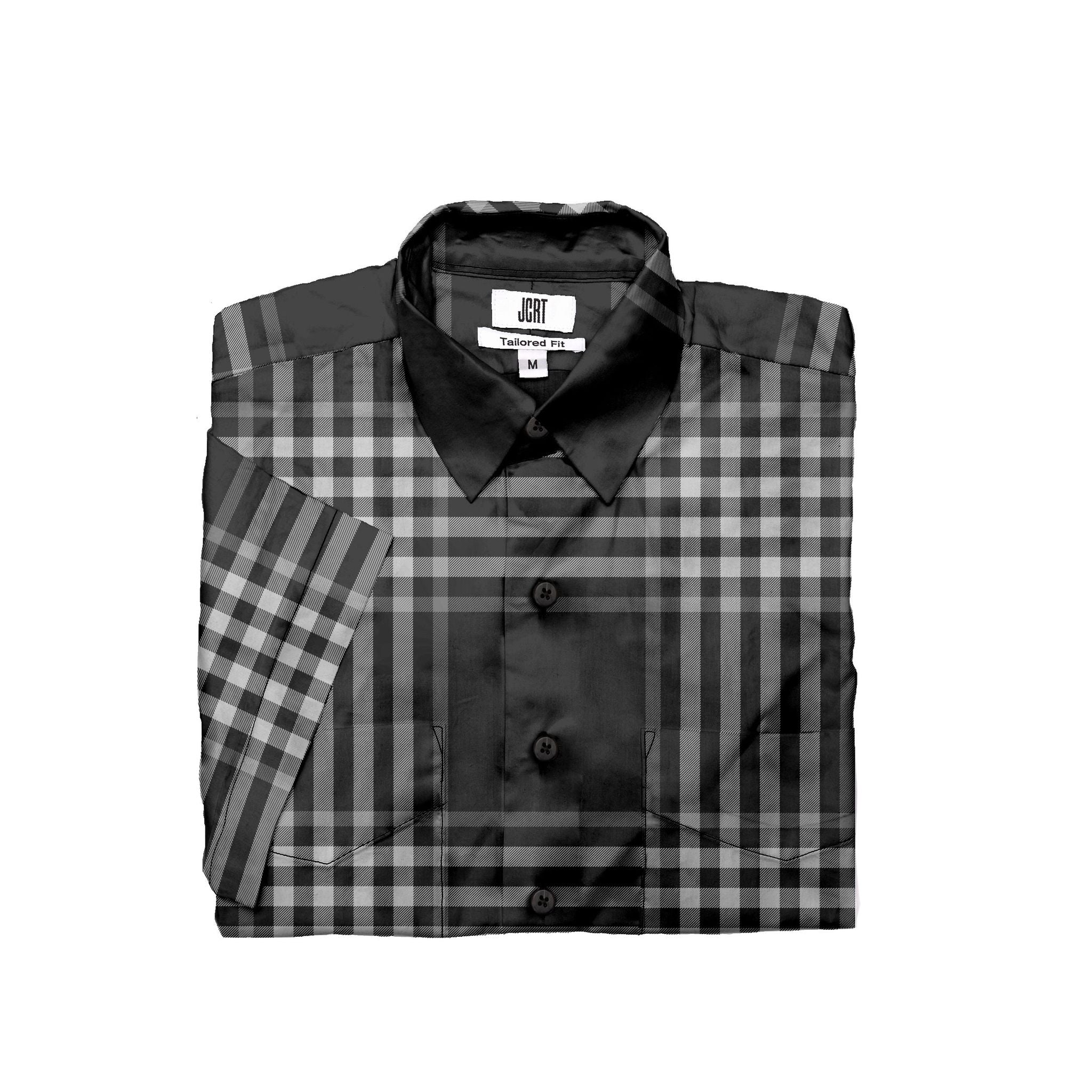 The Richard Burton Plaid Short Sleeve Shirt