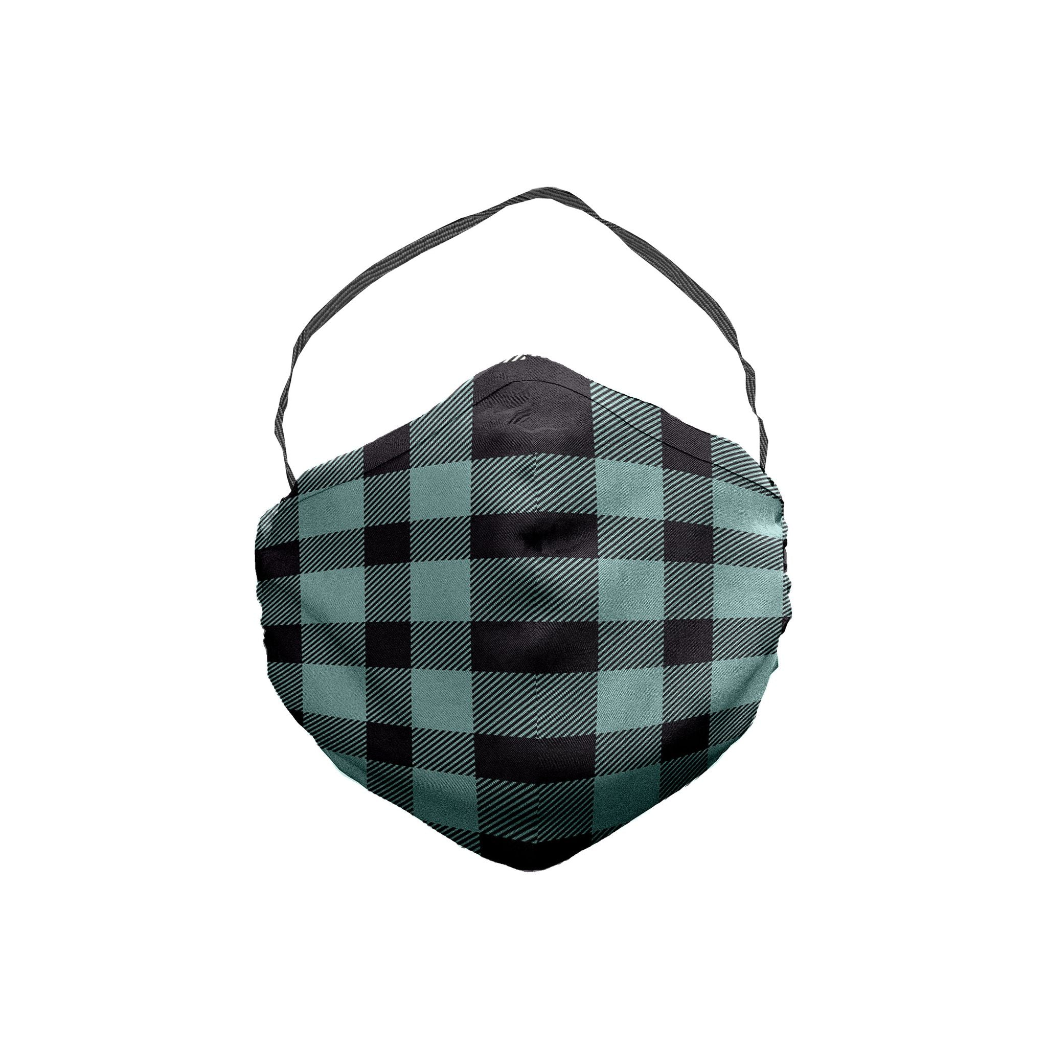 The Disintegration Plaid Face Mask 5 Pack