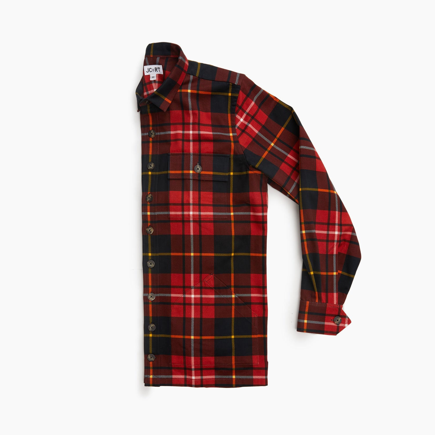 The Smith Plaid Shirt Jacket