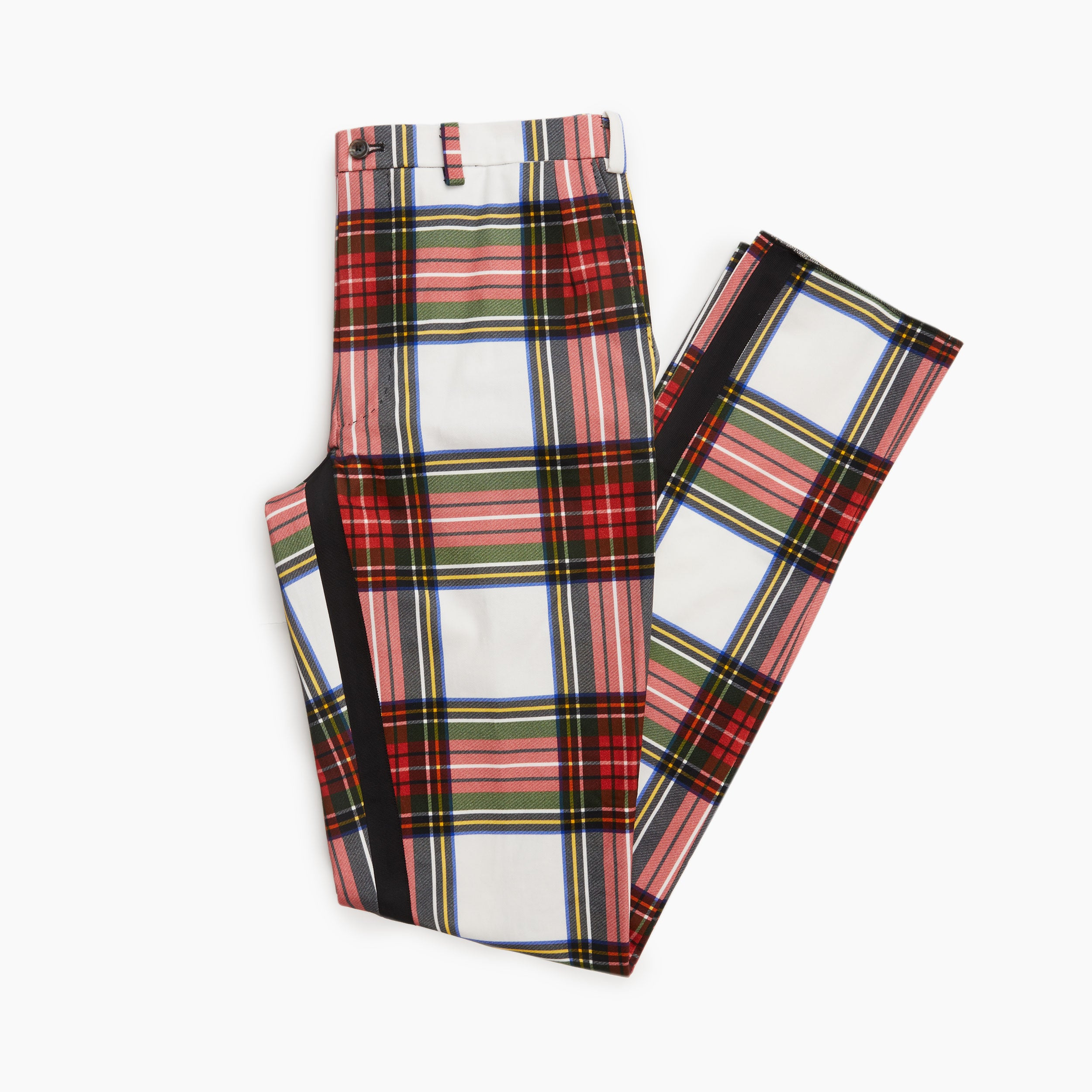 The Ballion Plaid Trouser