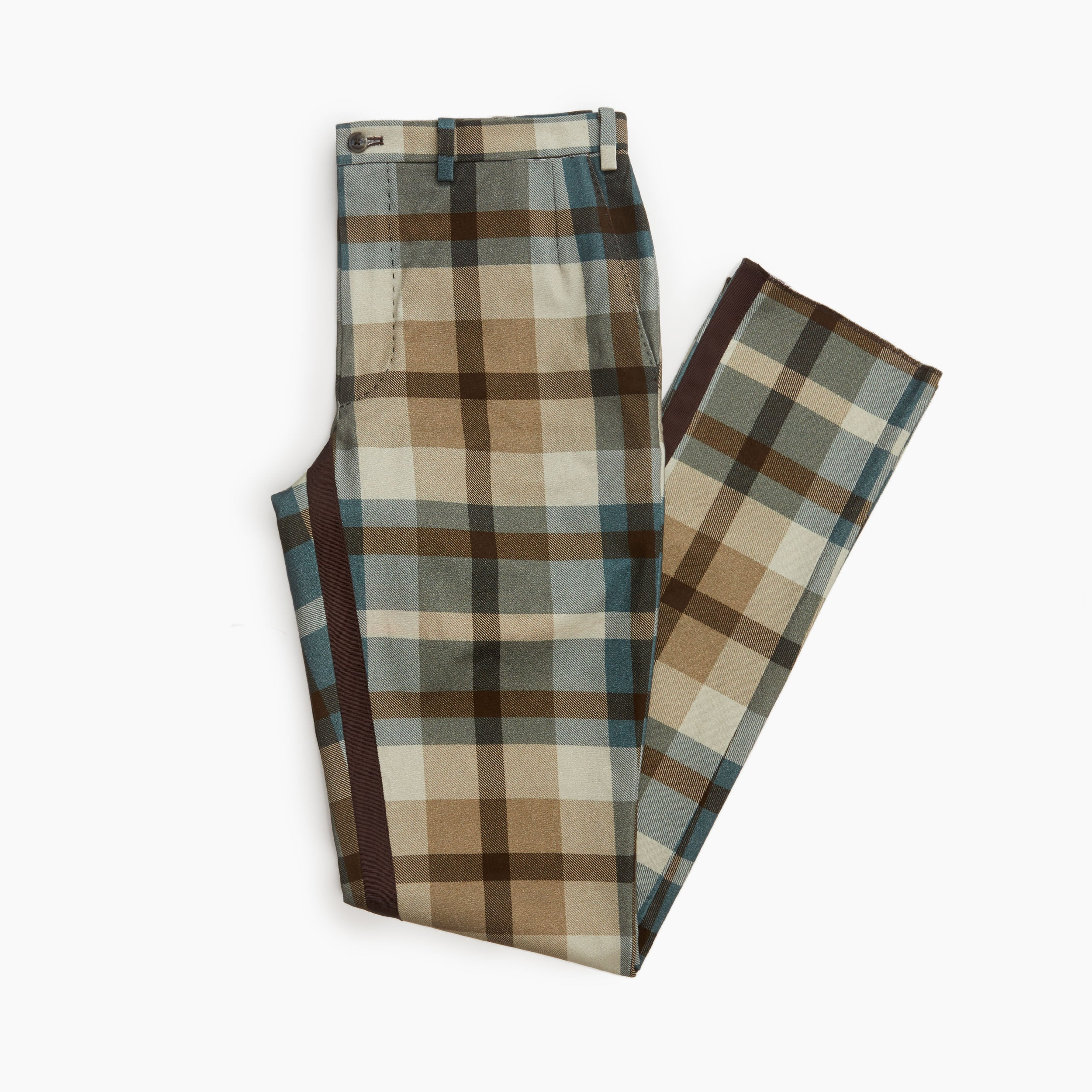 The Mcmillan Plaid Trouser