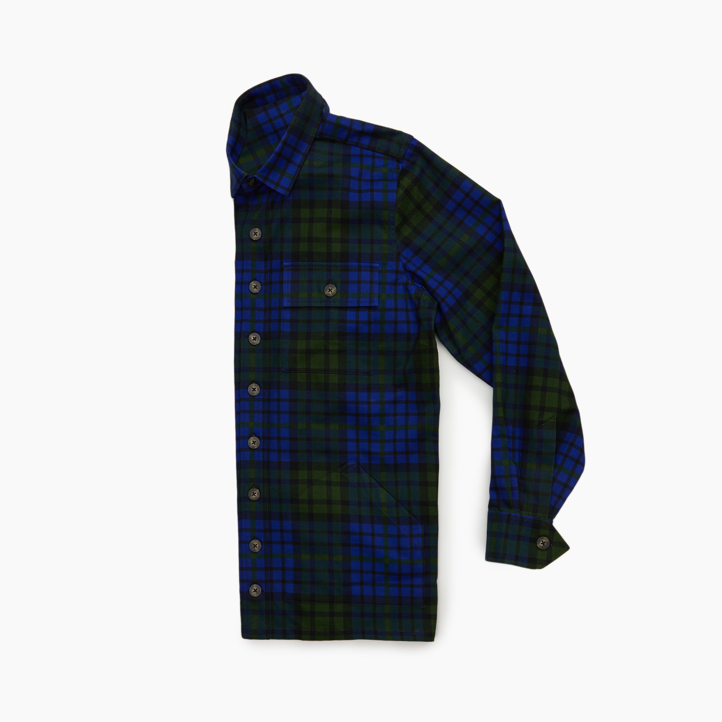The Kumar Plaid Shirt Jacket