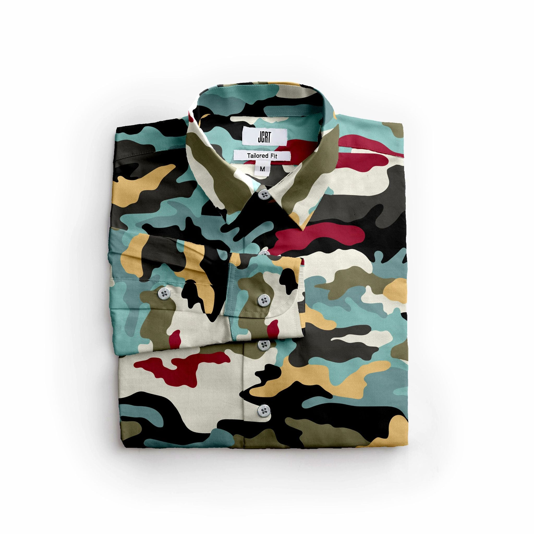 The Cloisters 52 Card Deck Camouflage Long Sleeve Shirt