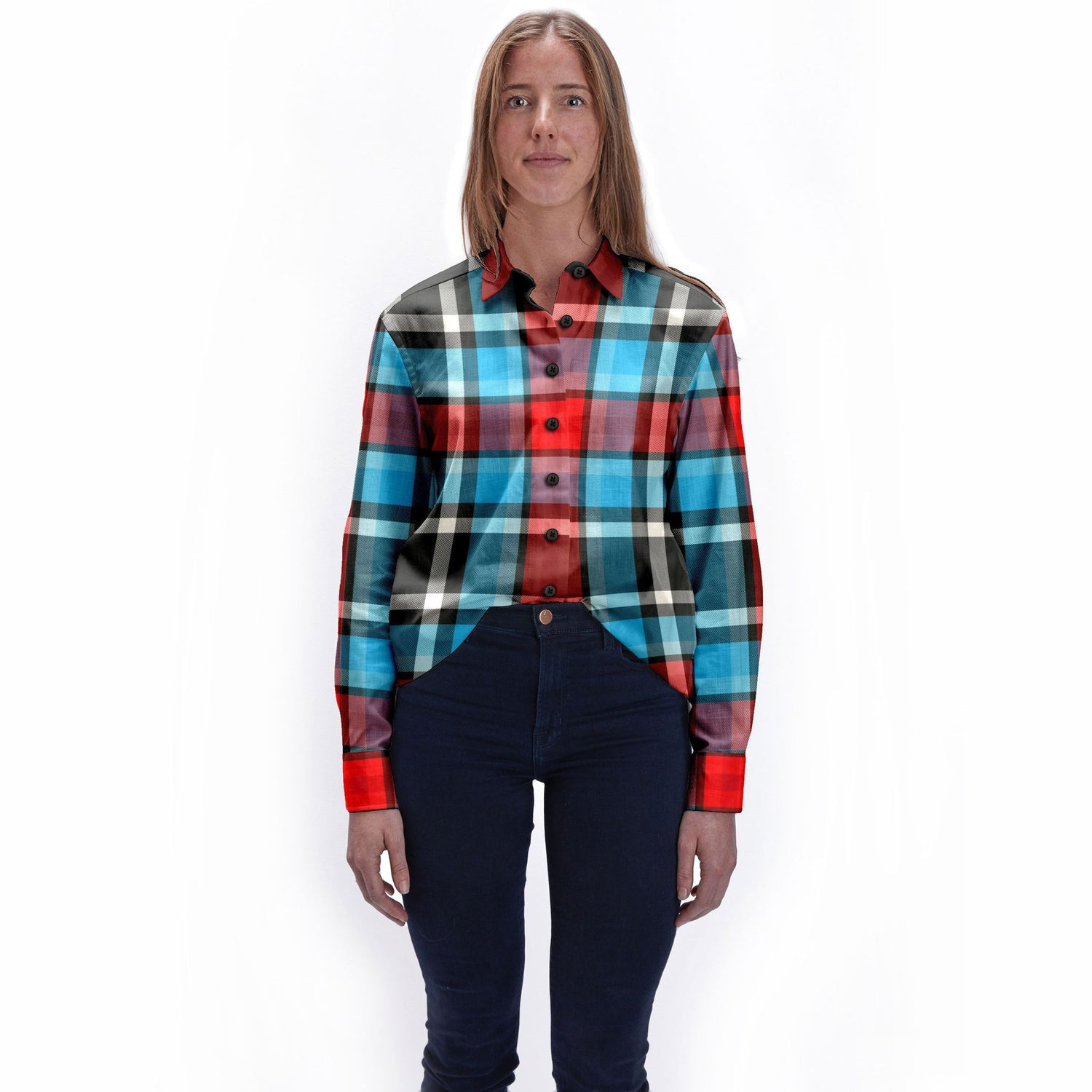 The Remain In Light Womens Flannel