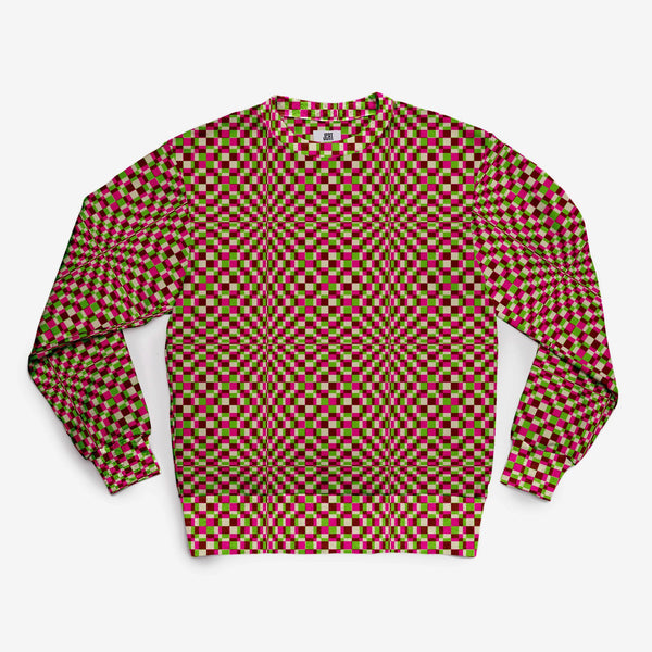 The Screaming Squares Plaid Sweatshirt