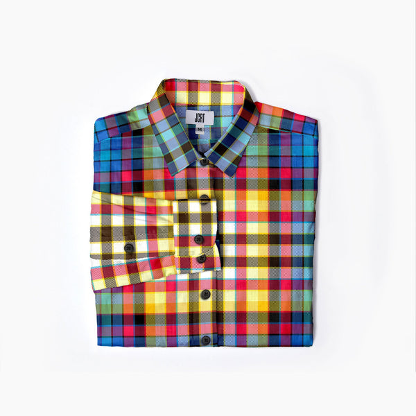 The Cloudcuckooland Plaid Womens  Flannel