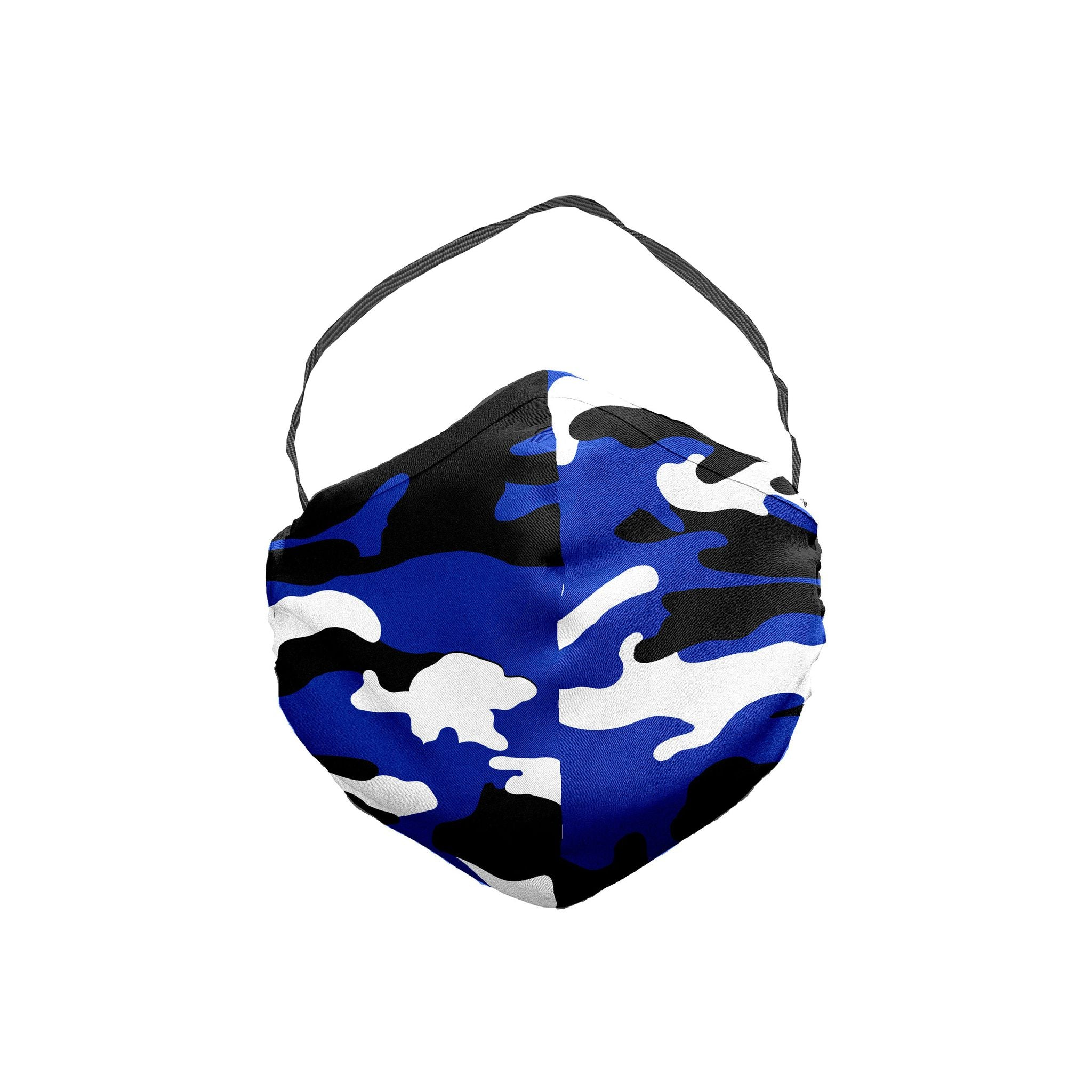 The Blue Devils Camouflage Face Mask 5 Pack