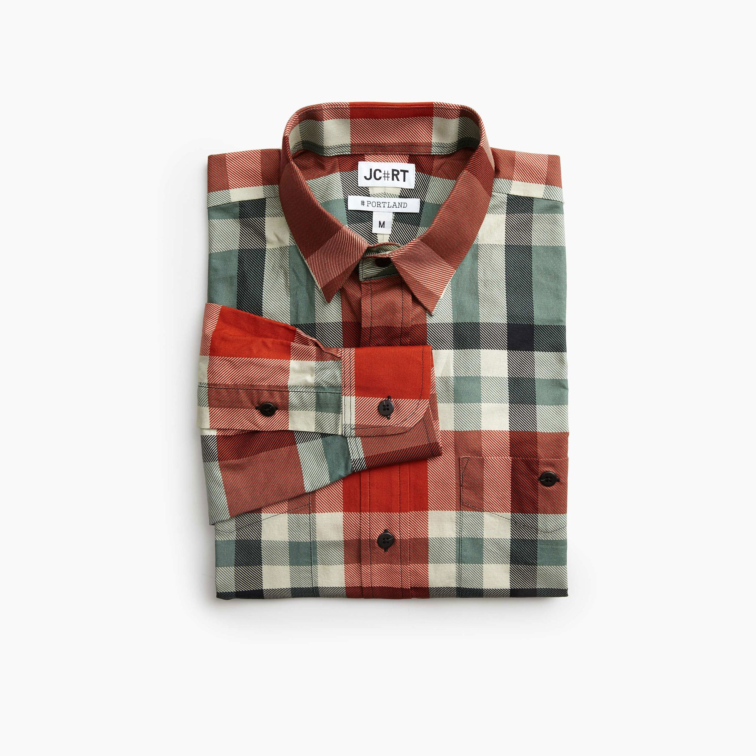 The Italian Comsubin Plaid Shirt