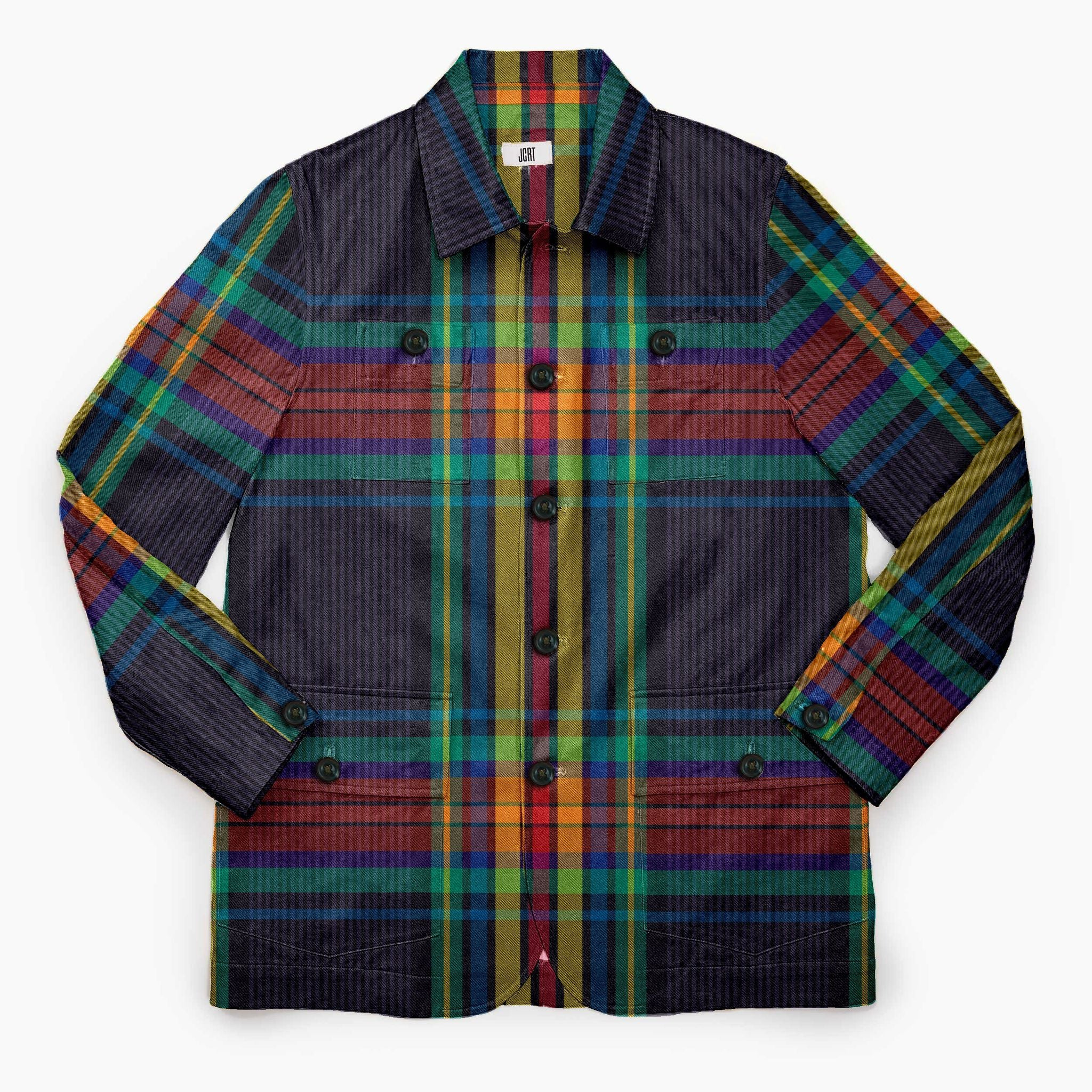 The Gala Plaid Chore Coat