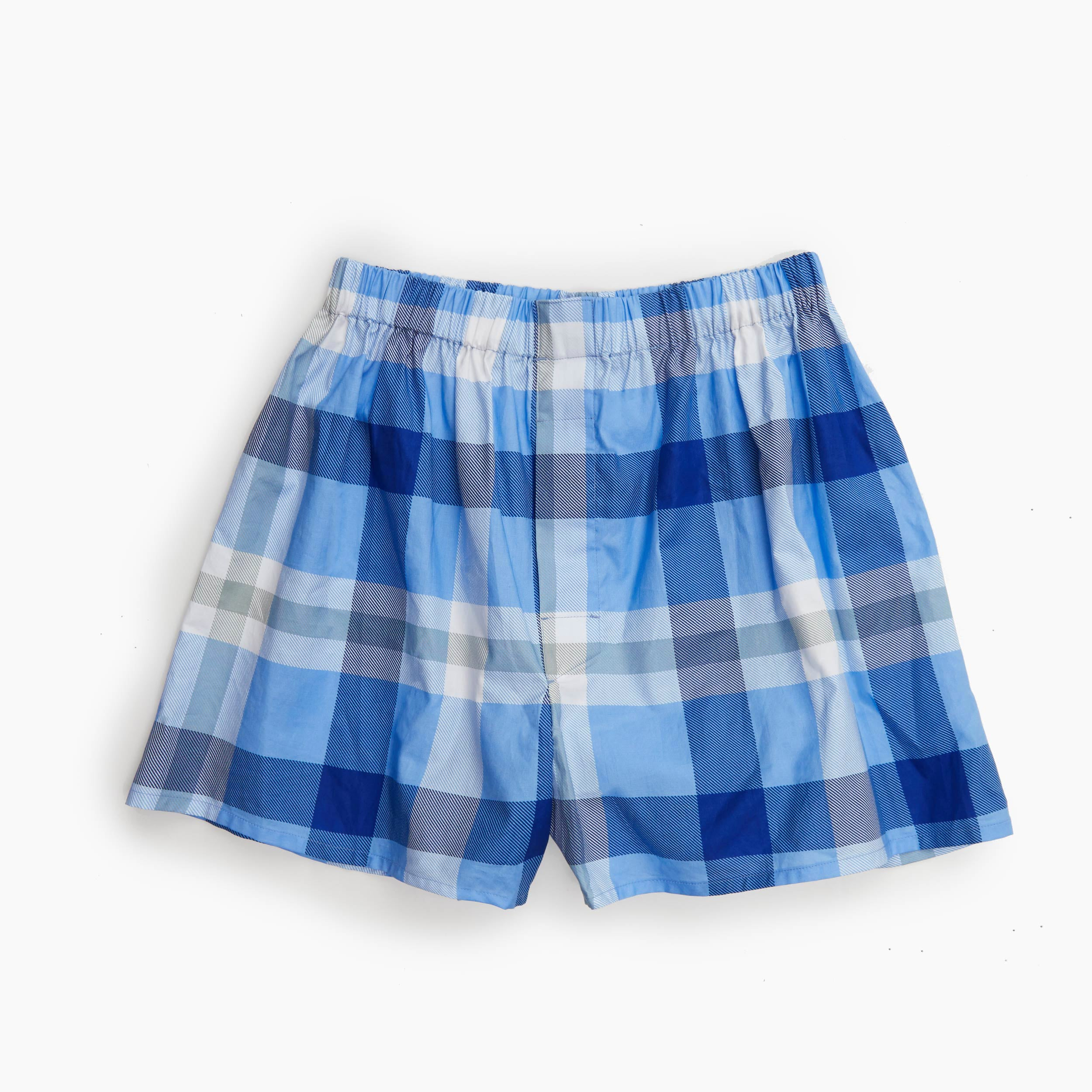 The Tar Heels Plaid Boxer