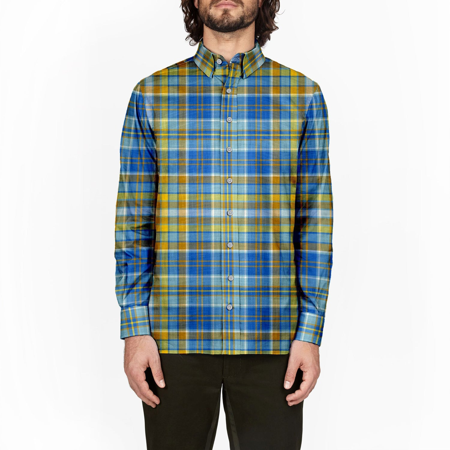 The Hanukkah Plaid Flannel