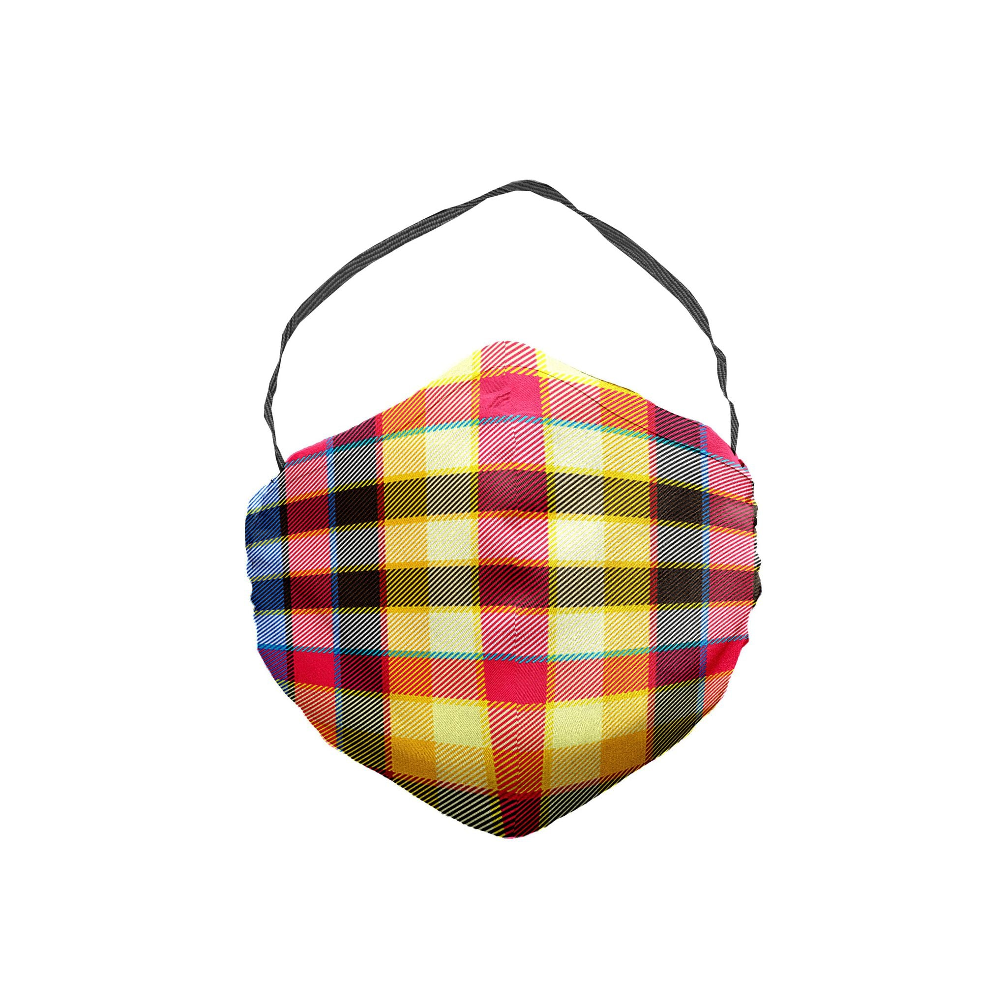 The Cloudcuckooland Plaid Face Mask 5 Pack