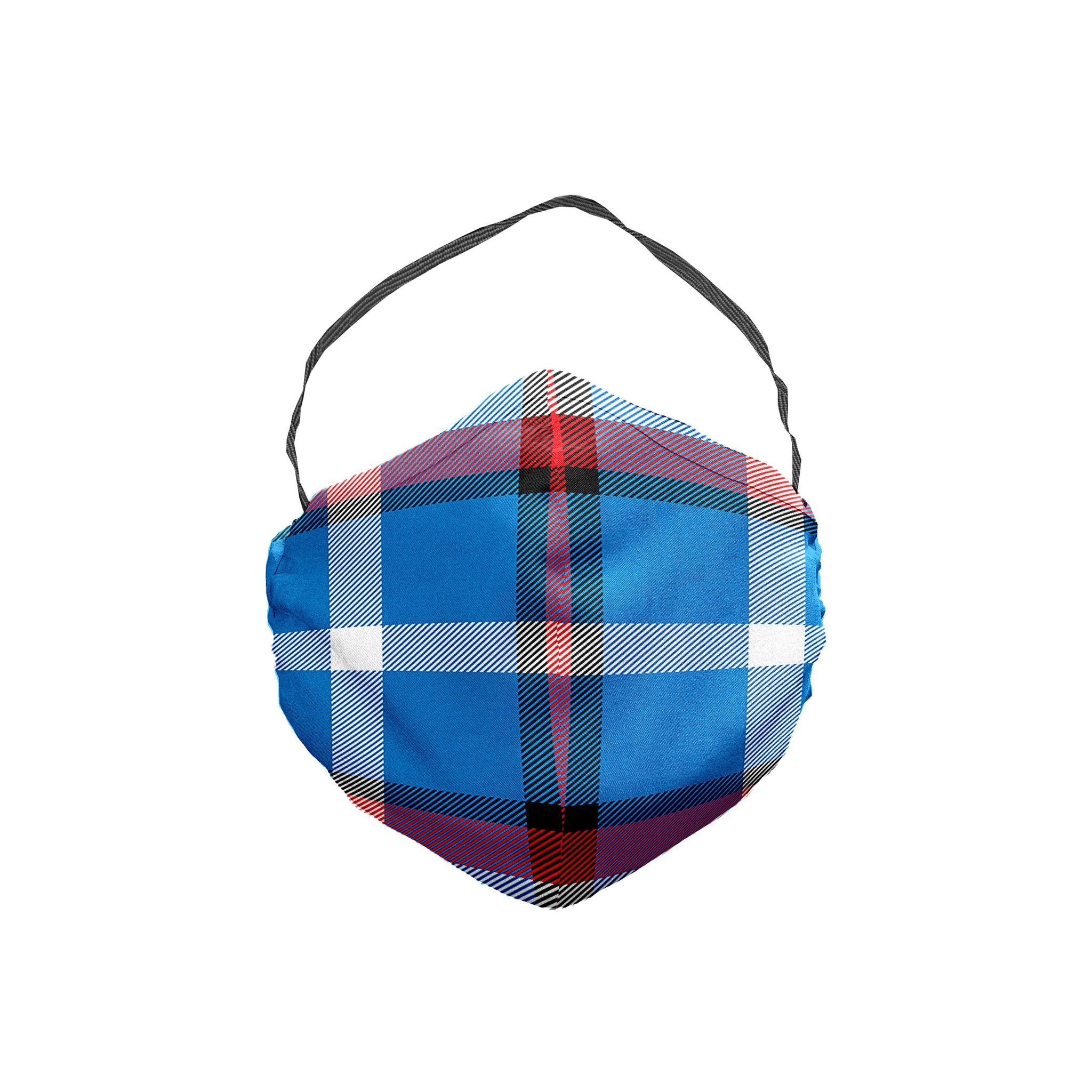 The Captain America Plaid Face Mask 5 Pack