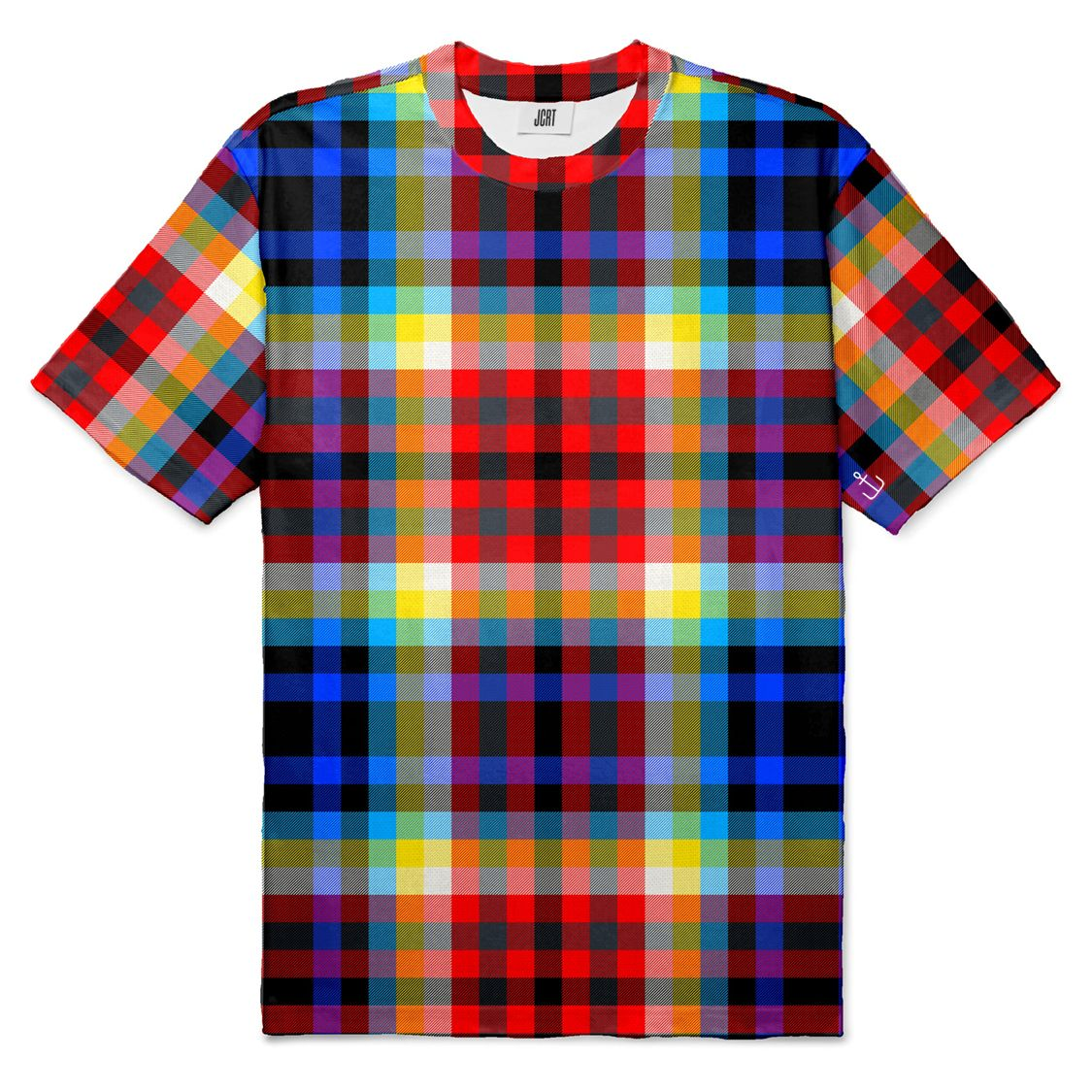 The Tron Plaid T-Shirt