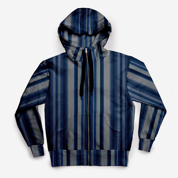 The JCRT + Stubbs & Wootton Baby Blue Velvet Stripe Sweatshirt