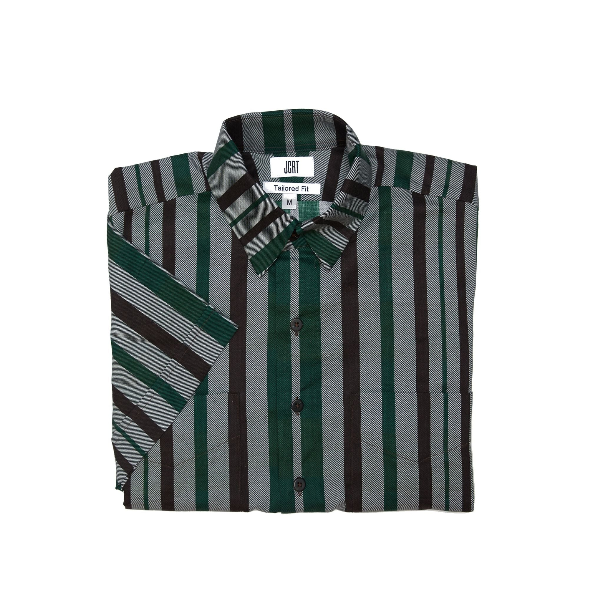 The Meat is Murder Stripe Short Sleeve Shirt