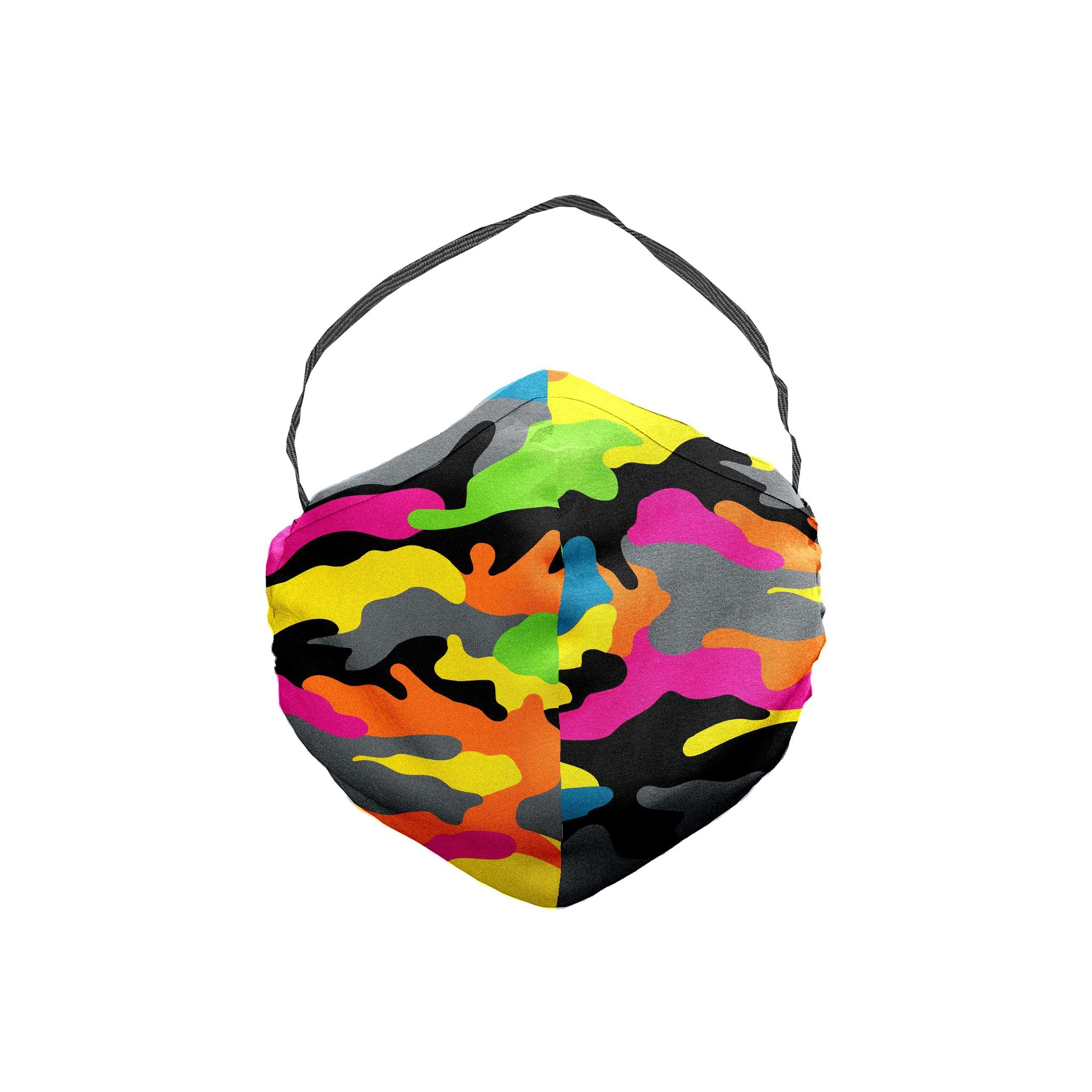 The 3 Feet High and Rising Camouflage Face Mask 5 Pack