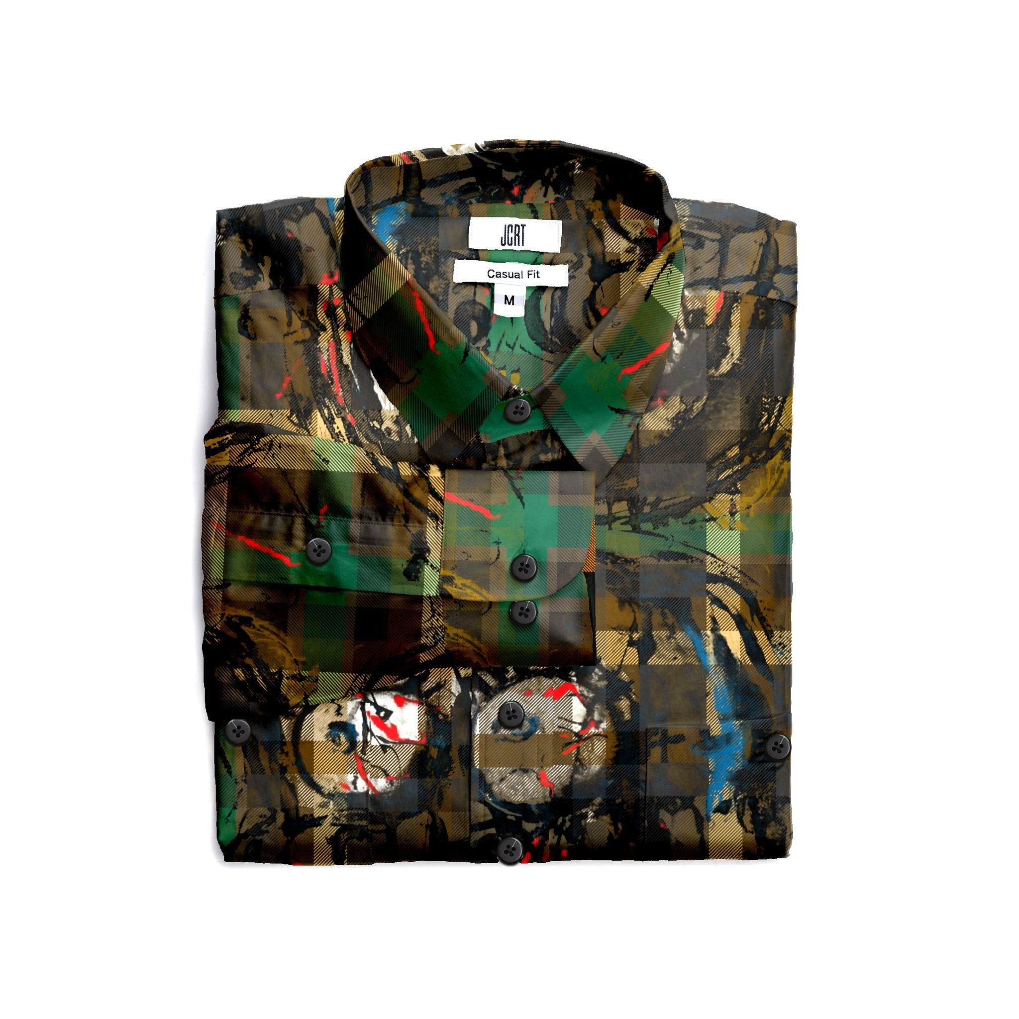 Scooter Camo Guy Long Sleeve Shirt
