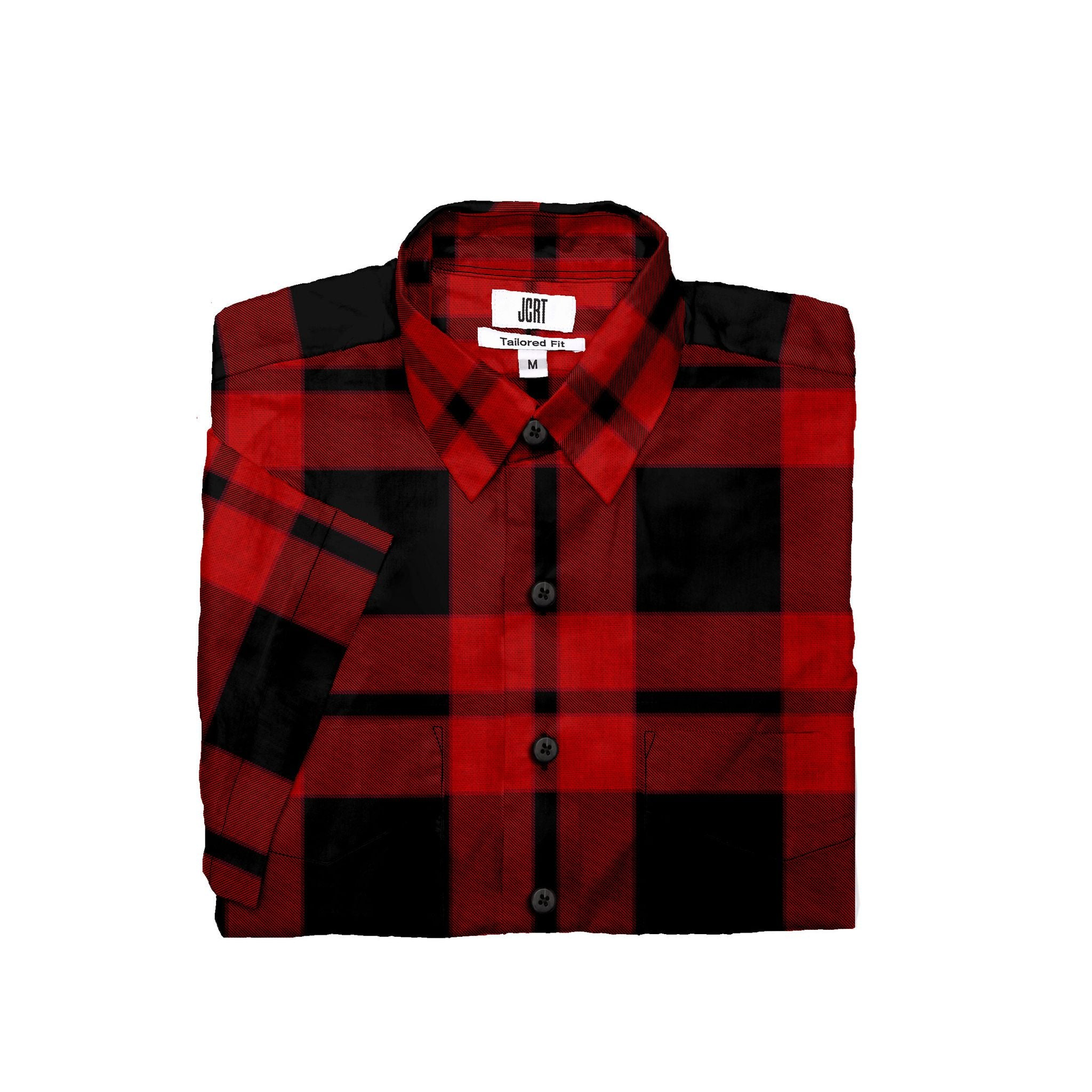 The Biggie Smalls Plaid Short Sleeve Shirt