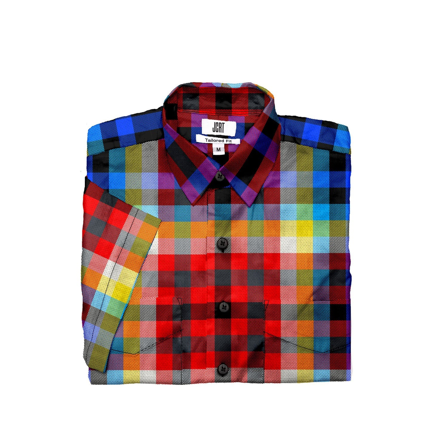 The Tron Plaid Short Sleeve Shirt