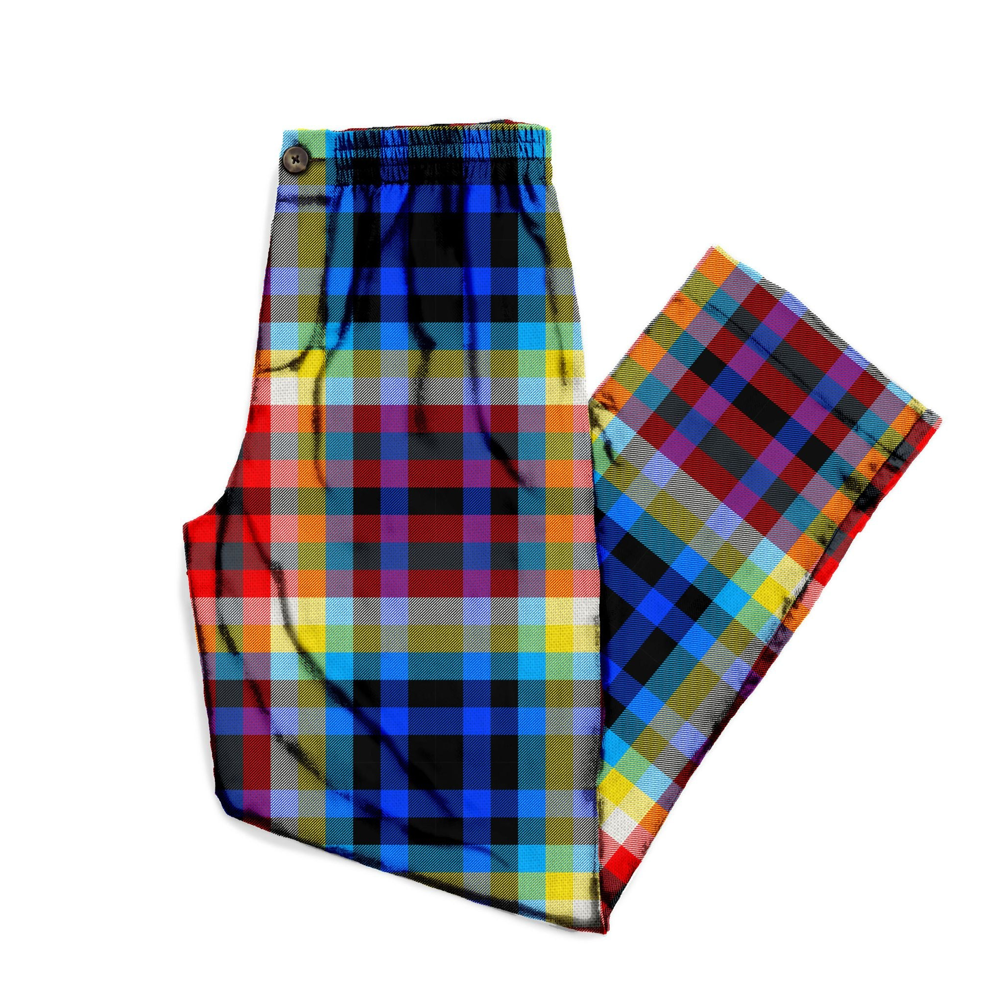 The Tron Plaid Lounge Pant