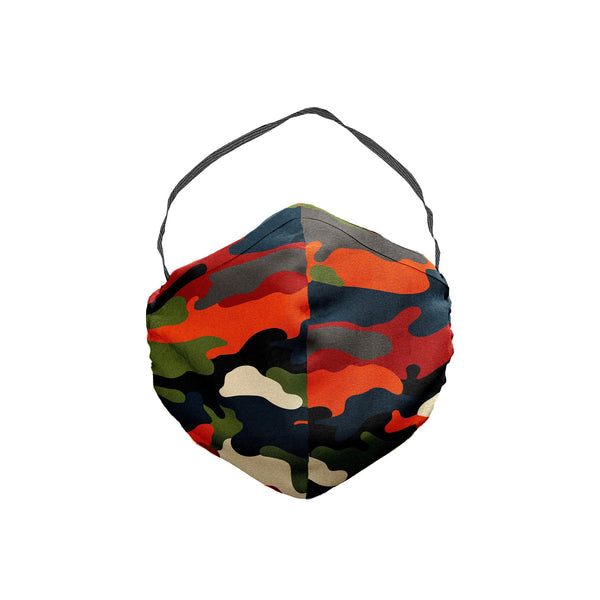 The Modern Nature Camo Face Mask 5 Pack