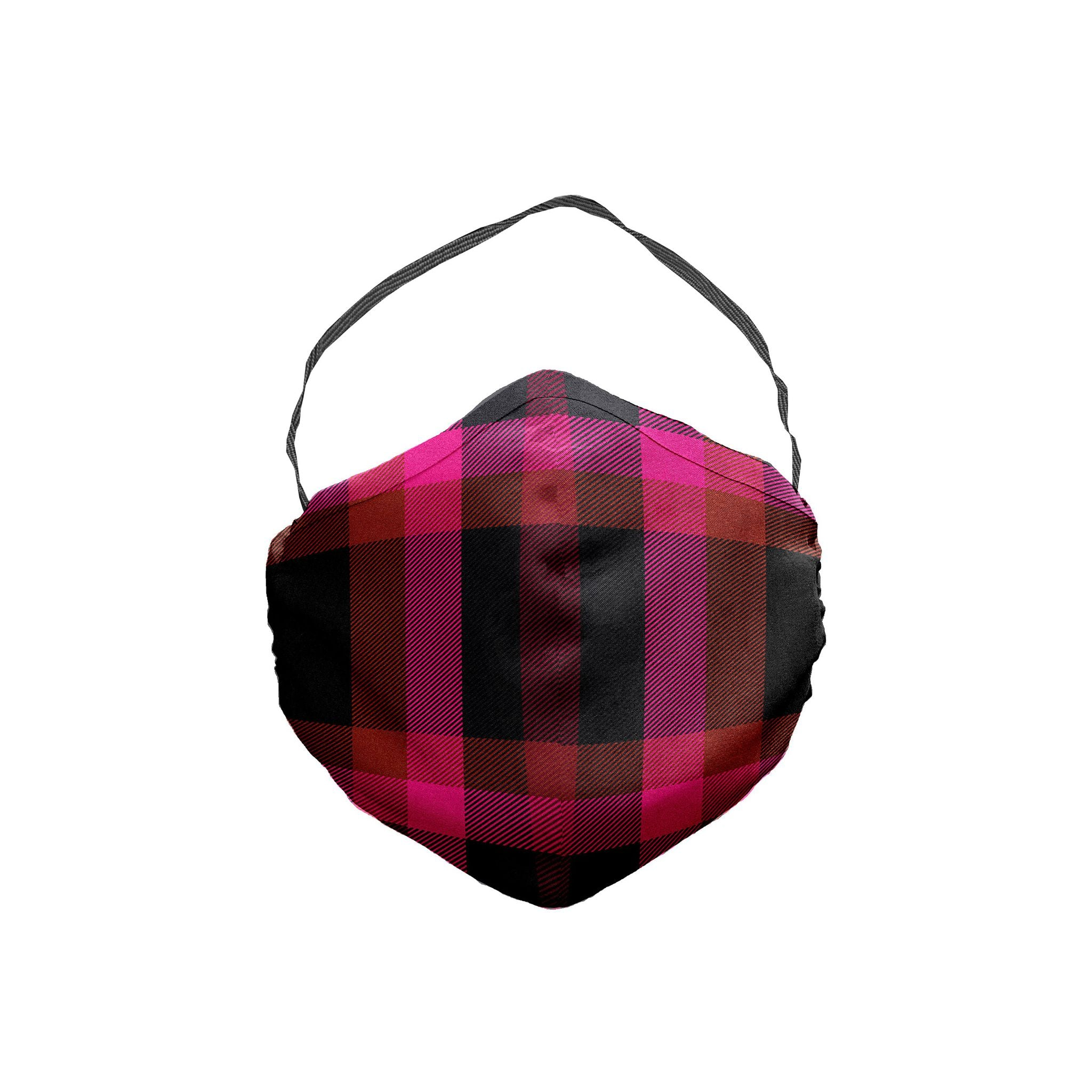 The Loveless Plaid Face Mask 5 Pack