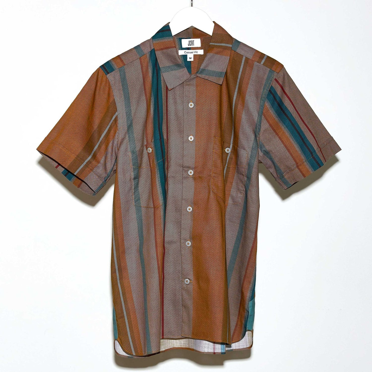 The Hunky Dory Stripe Short Sleeve Shirt