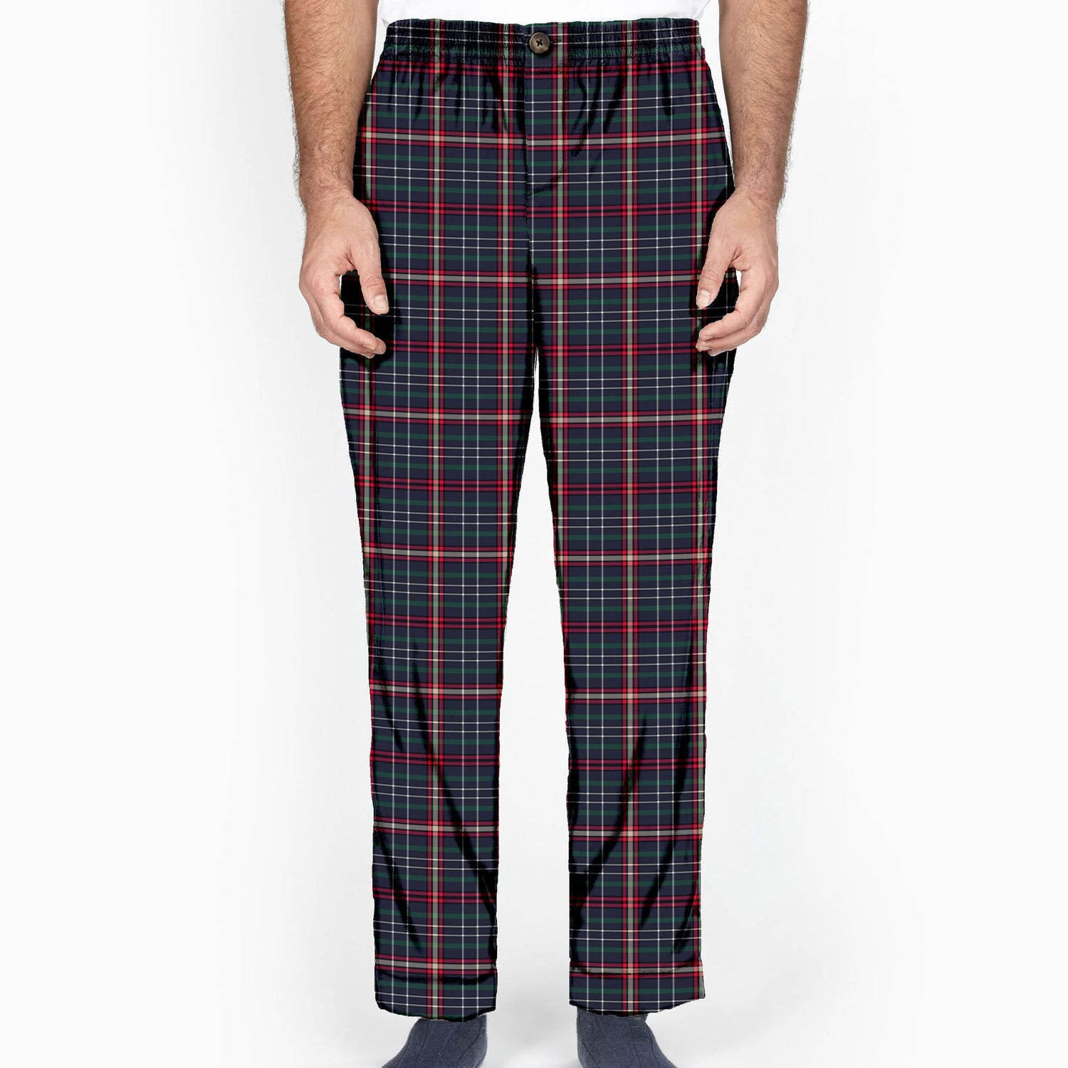 The All Work and No Play Plaid Flannel Lounge Pant