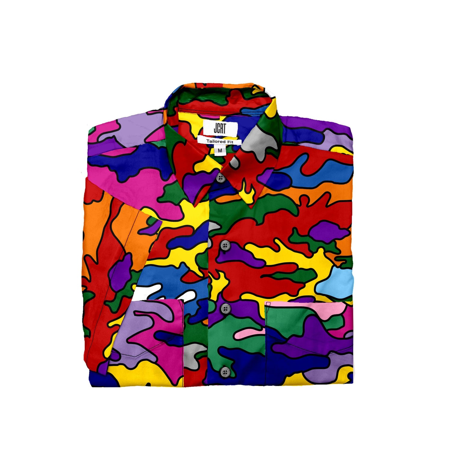 The Pride Camouflage Short Sleeve Shirt