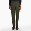 The Winter Green Twill Trouser