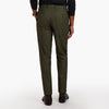 The Leaf Green Twill Trouser