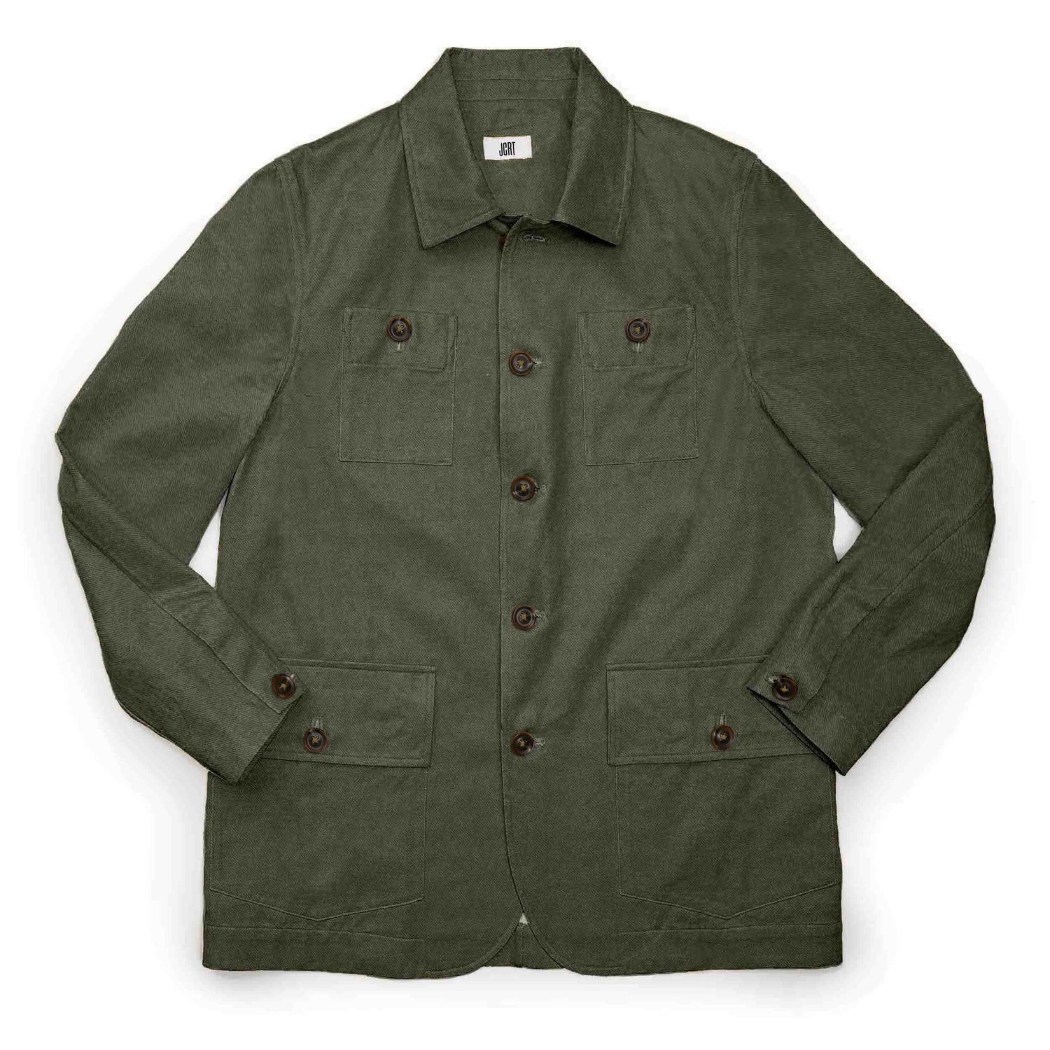 The Moss Twill Country Jacket