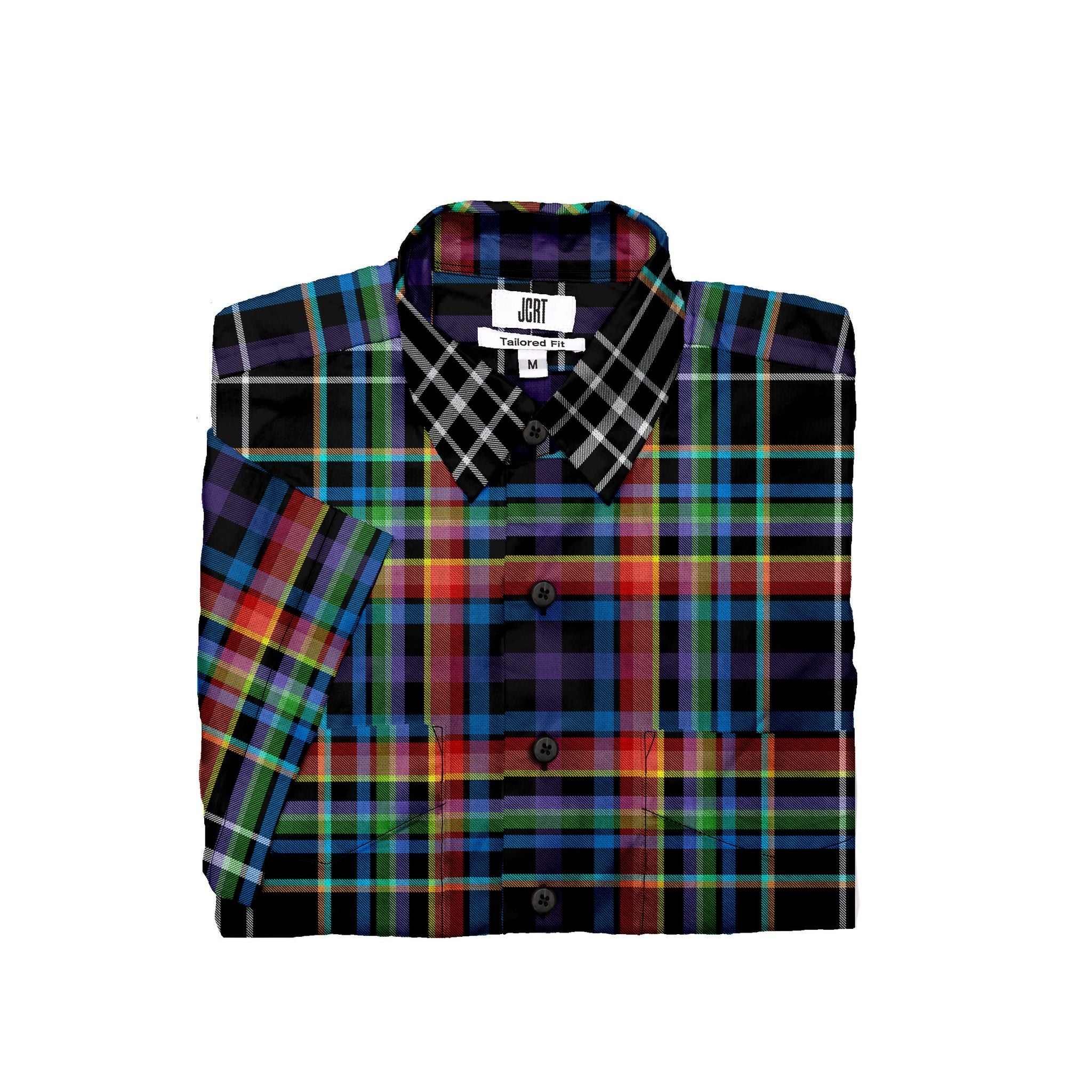 The Extricate Plaid Short Sleeve Shirt