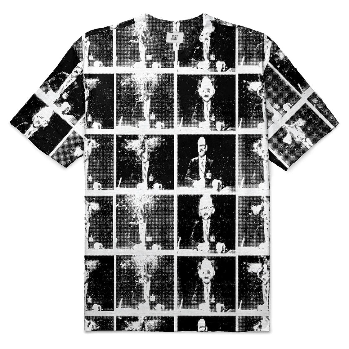 The Scanners Halftone Plaid T-Shirt