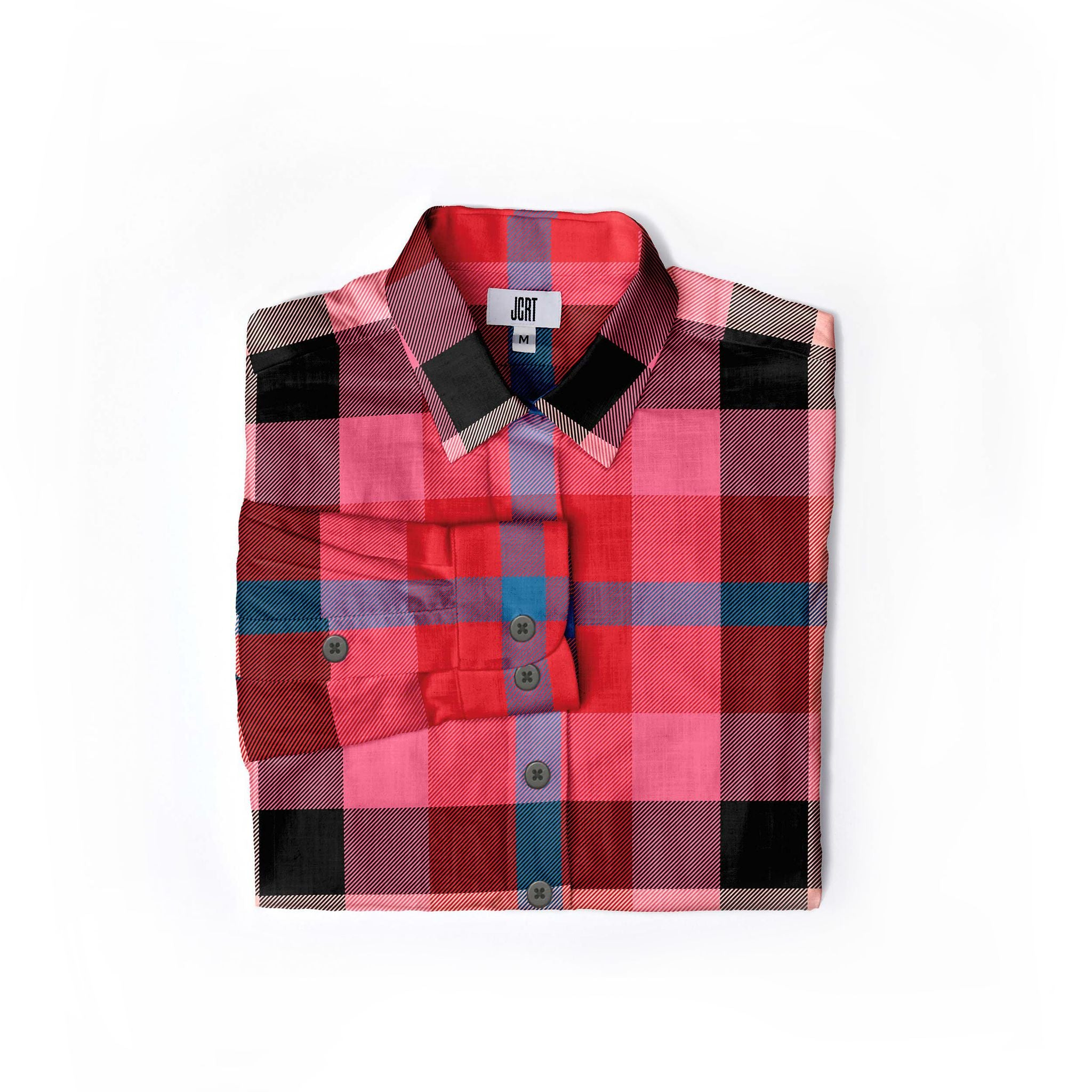 The Post Plaid Women's Long Sleeve Shirt