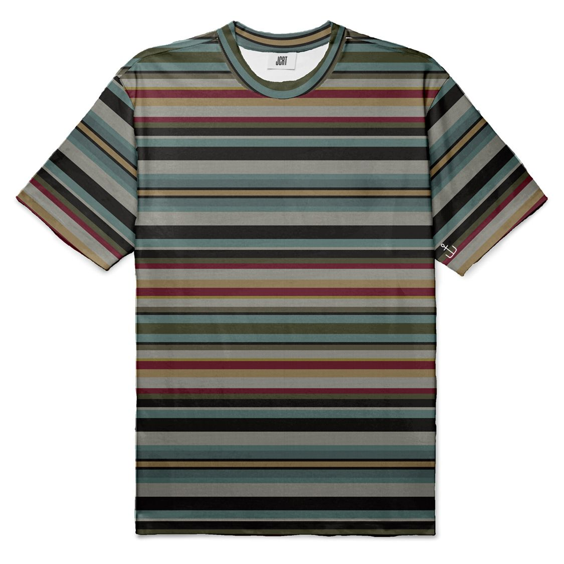 The Cloisters 52 Card Deck Stripe T-Shirt