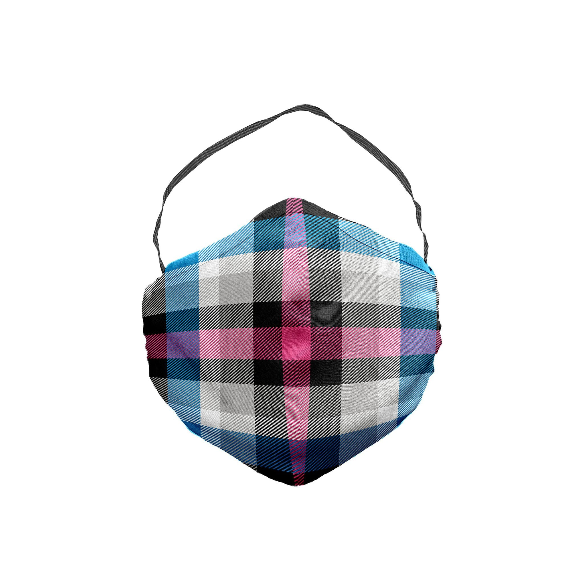 The Age of Consent Plaid Face Mask 5 Pack