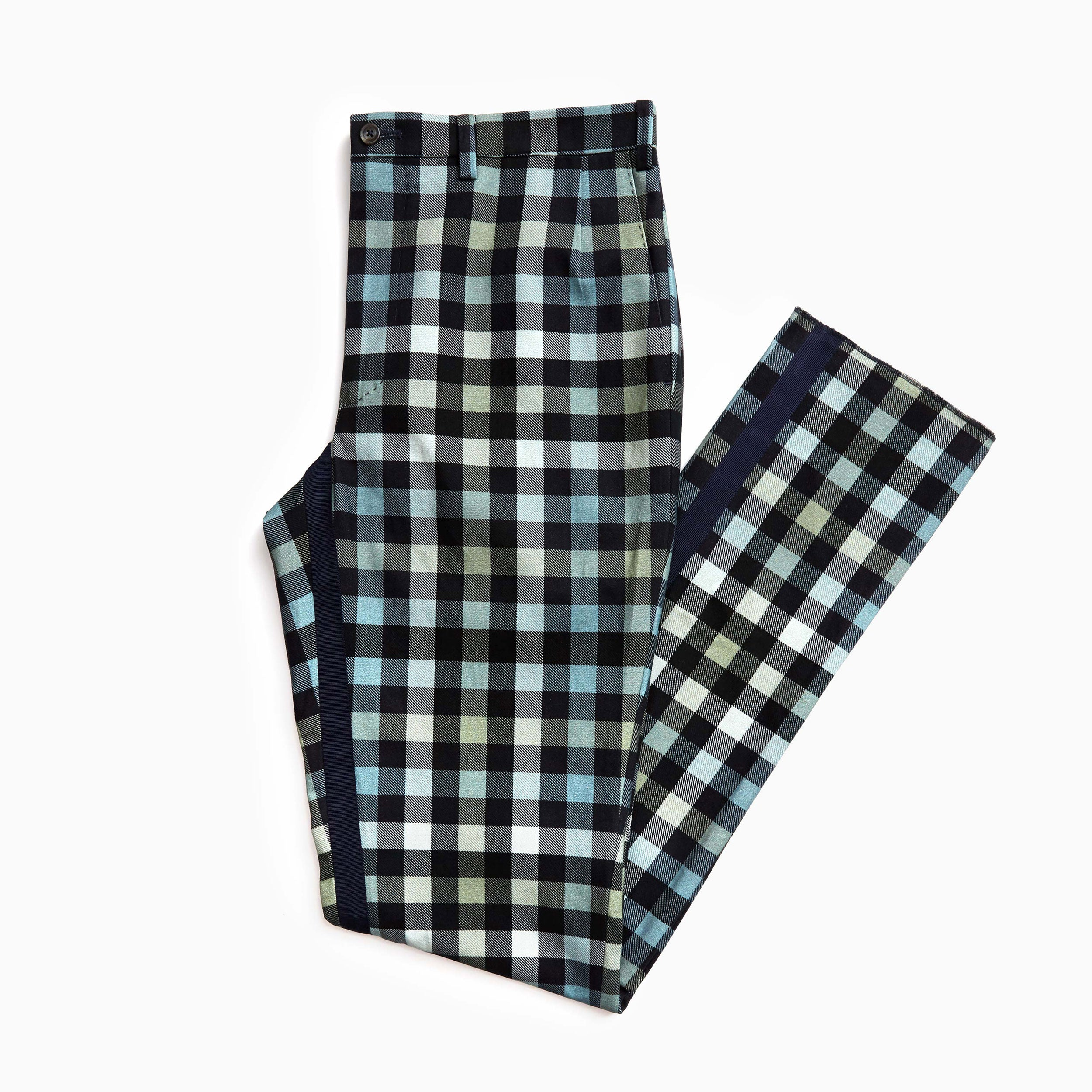 The Navy Working Uniform Plaid Trouser