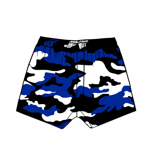 The Blue Devils Camouflage Plaid Boxer