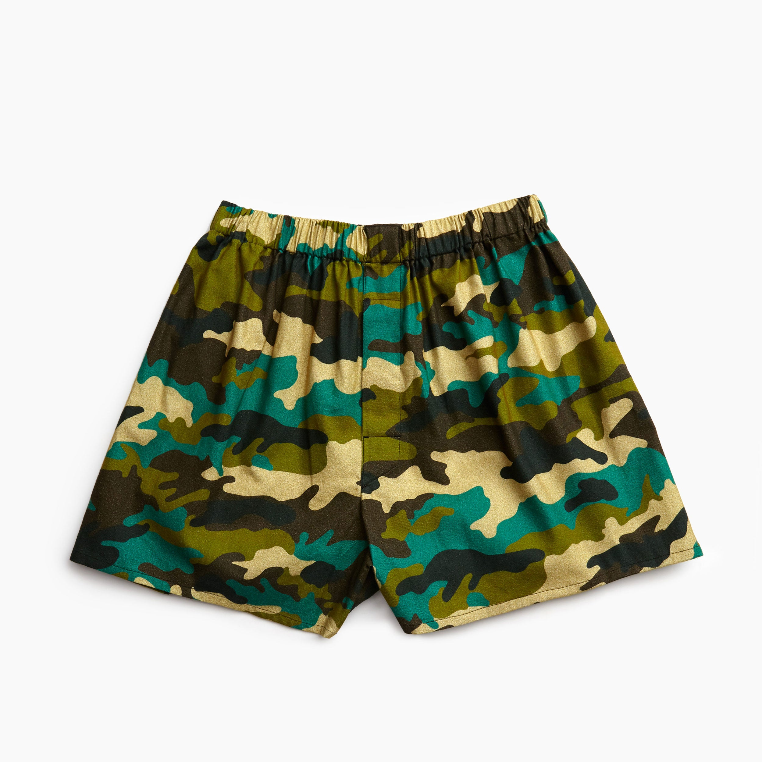 WW2 Parachute Camouflage Flannel Boxers
