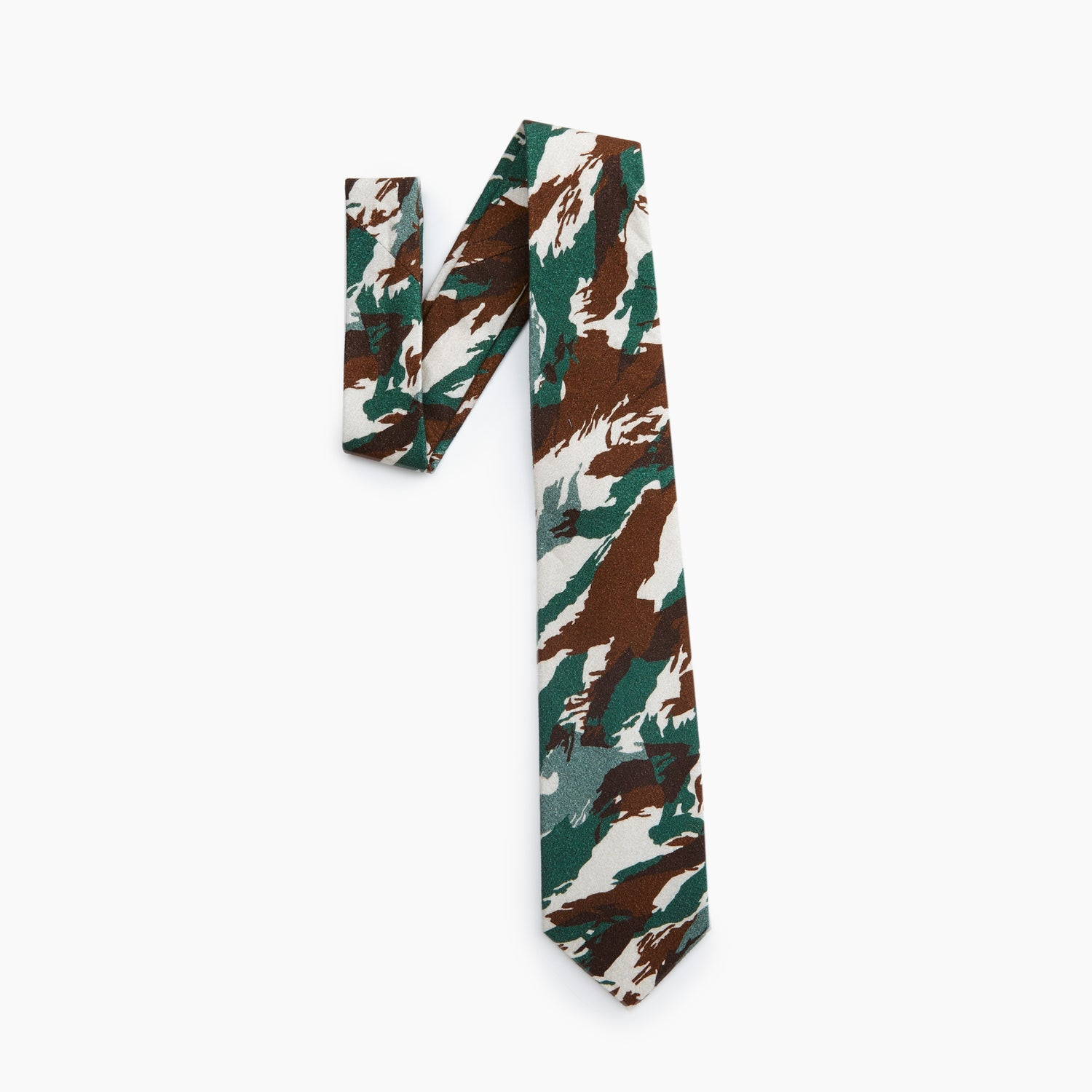 Self Tipped Tie | The Hungary Desert Camo